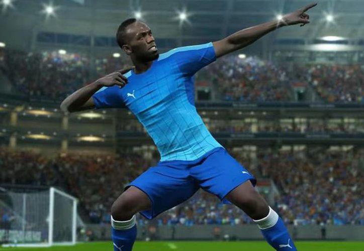 Usain Bolt se prepara en la primera división de Noruega. (Foto: AS Chile)