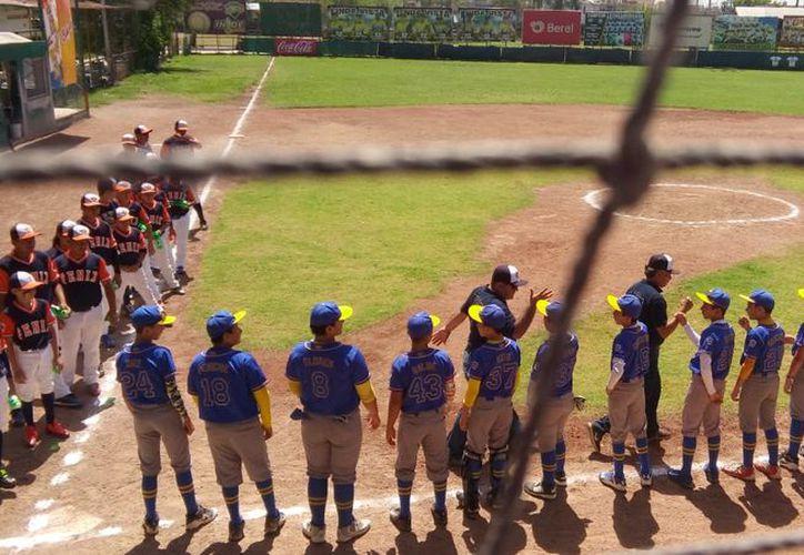 Los equipos participan en el Campeonato Nacional Williamsport de Ligas Pequeñas de Béisbol. (Raúl Caballero/SIPSE)