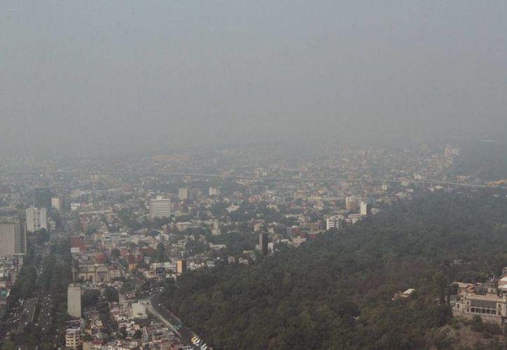 La zona metropolitana del Valle de México está en nueva contingencia ambiental, luego de que a las 15:00 horas la contaminación llegara a 151 puntos de ozono, en Azcapotzalco. (Notimex)
