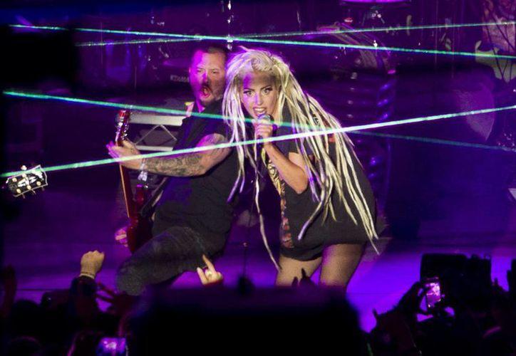 Como parte de su actuación en el festival SXSW, Lady Gaga grabó un segmento de 'Jimmy Kimmel Live'. (Agencias)