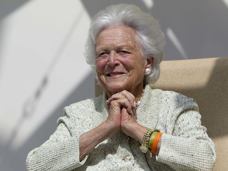 "Barbara Bush use to said: ""every single day was interesting, rewarding, and sometimes just plain fun"". (Agencia)"