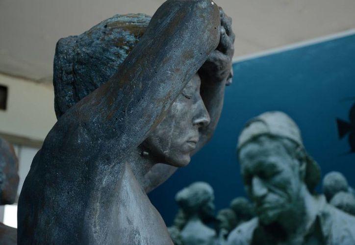 Las obras del MUSA reciben la visita de prensa internacional tres veces al mes. (Victoria González/SIPSE)