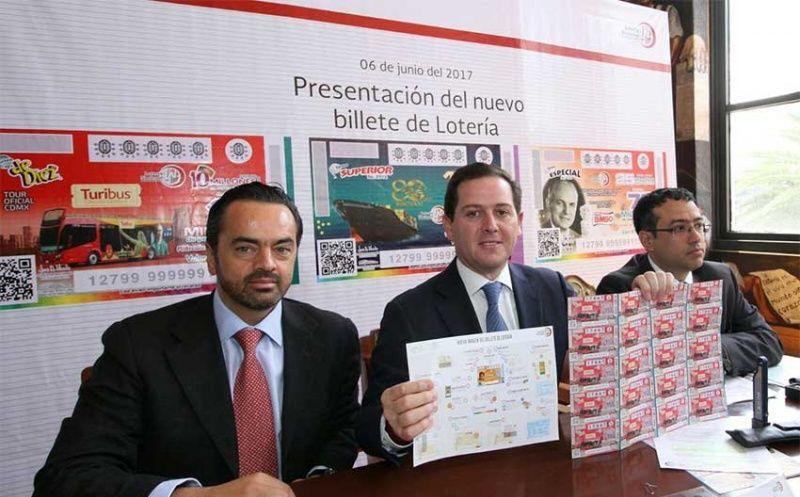 Nuevos billetes de la Lotería Nacional tendrán 20 medidas de seguridad