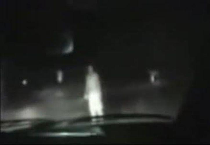 Esa noche los policías tuvieron cuatro encuentros con la presencia fantasmal. (SIPSE)