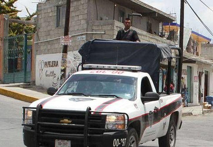 Los Caballeros Templarios detenidos en Hidalgo fueron trasladados a las instalaciones de la Coordinación de Investigación para realizar las pesquisas correspondientes. (Milenio)
