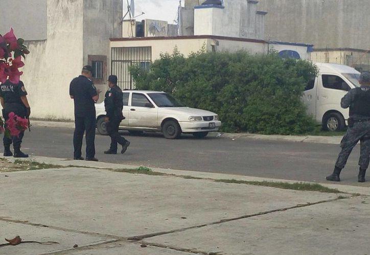 El vehículo fue asegurado para las investigaciones. (Redacción/SIPSE)