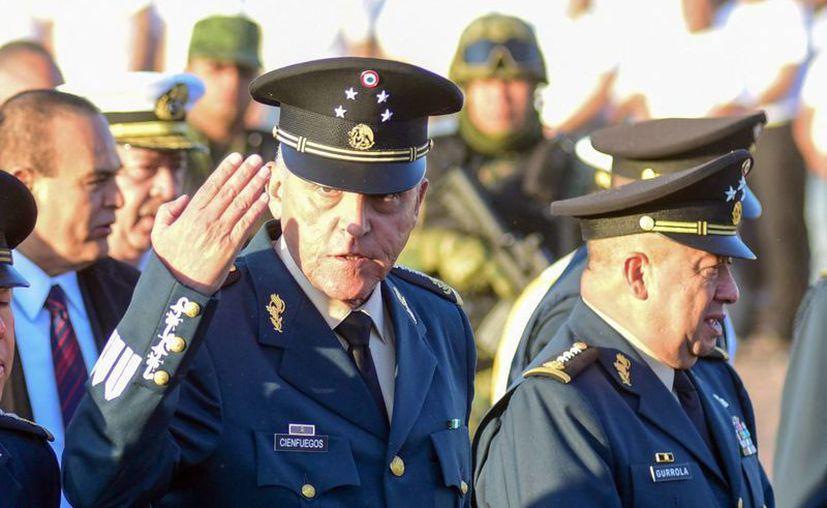 El secretario de la Defensa Nacional, Salvador Cienfuegos,  señaló que el Ejército ha evolucionado sustancialmente a través del tiempo. (Archivo/Notimex)