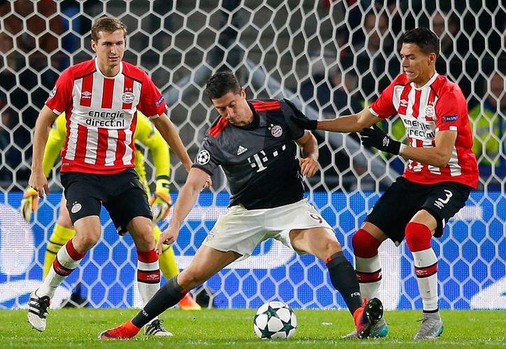 Los naranjeros dejaron escapar una oportunidad de sumar puntos en casa y cayeron ante un poderoso Bayer Múnich. (AP)