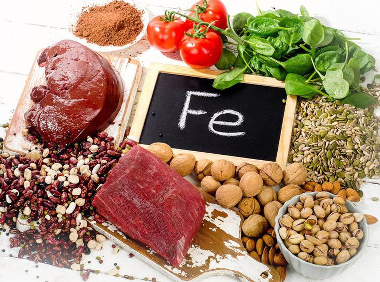 Dieta alimenticia sin hierro