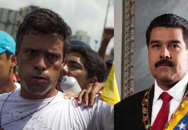 """""""López, inclusive en su condición de penado, yo he autorizado y ha asistido a reuniones"""", dijo en su programa de radio y televisión """"Domingos con Maduro"""". (SIPSE/Especial)"""