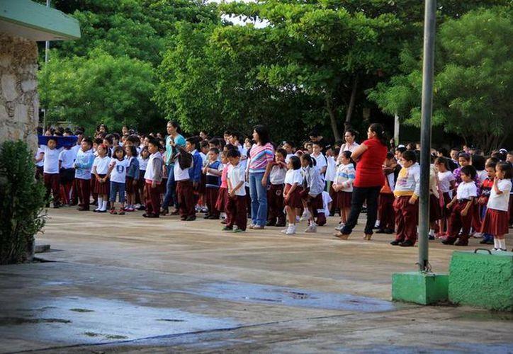La preinscripción se realizó en escuelas de Mérida, Umán, Kanasín y Progreso. (Milenio Novedades)