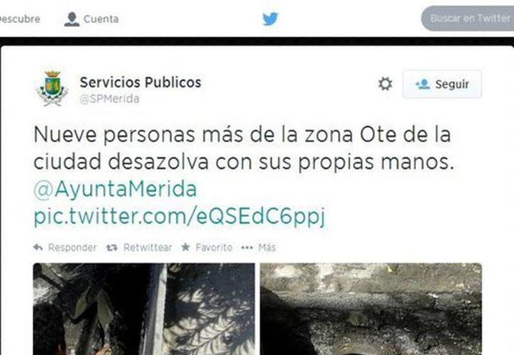 El 'tuit' que motivó la denuncia del regidor priista Rubén Segura Pérez. (Cortesía)