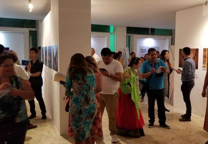 """Se realiza la exposición """"Vamos a Corea"""", como parte de las actividades. (Jocelyn Díaz/SIPSE)"""