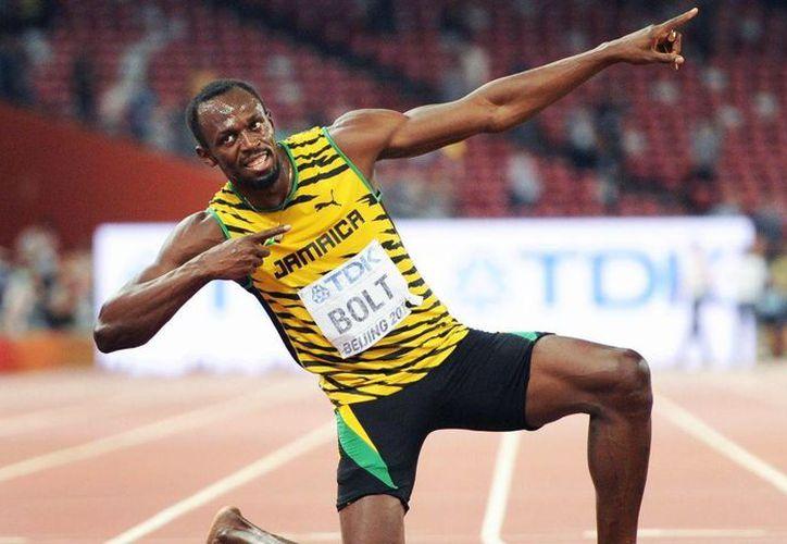 Usain Bolt, el atleta más rápido del mundo, tricampeón olímpico, comparte lo que ha sido su vida, en una película que se estrena este mismo mes. (mundotkm.com)