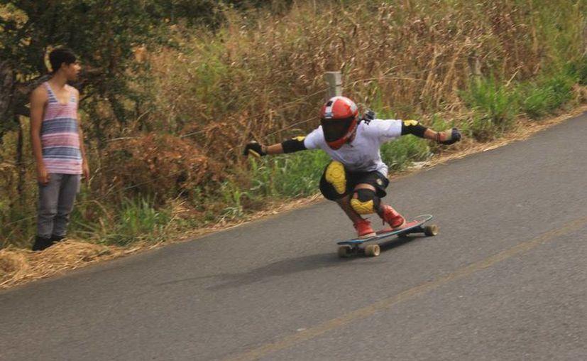 El 'Ramonal Slide Jam' es organizado por el colectivo juvenil Backside Crew. (Miguel Maldonado/SIPSE)