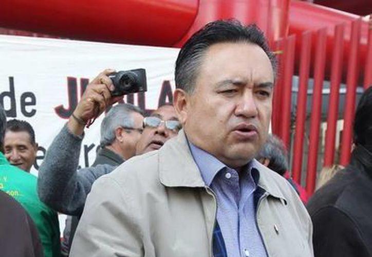 Martín Esparza, líder del SME: se insistirá en la libertad de Jorge Ulises Uribe. (Agencias/Foto de archivo)