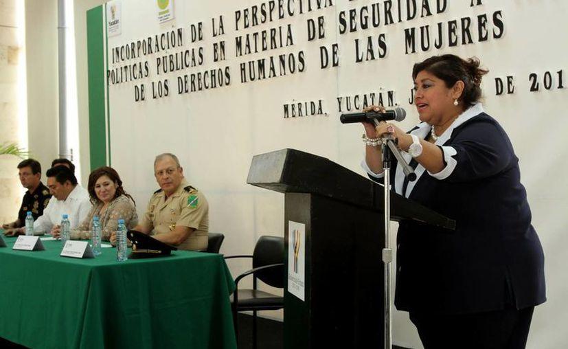 La directora del IEGY, Rosario Cetina Amaya. (Milenio Novedades)