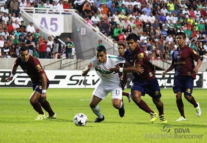 El primer partido del Atlante contra Celaya será el próximo miércoles a las 19:30 horas en el estadio Andrés Quintana Roo, en Cancún.  (revistadeascensobancomermx.com)
