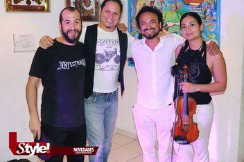 Noche de tango en Puerto Morelos