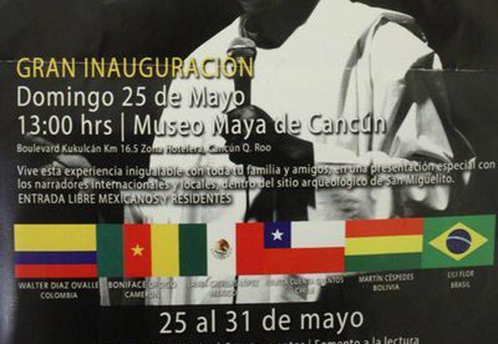 El evento iniciará el 25 de mayo en el Museo Maya Cancún a las 13 horas. (Sergio Orozco/SIPSE)