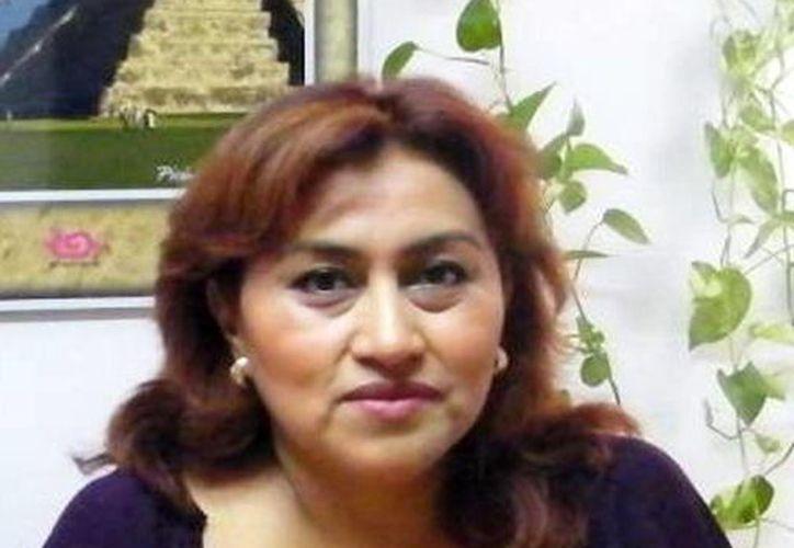 Rosa María Sánchez Cordero, presidenta de la Asociación de Agencias Promotoras de Turismo de Yucatán (Aaprotuy). (Milenio Novedades)