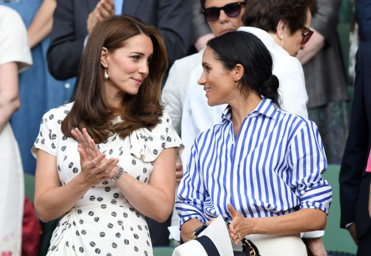 Kate Middleton parece dio una lección a su concuña al reciclar vestuarios con el fin de ahorrar. (Foto: AP)