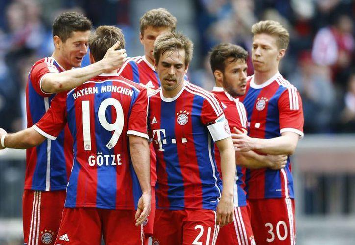 A pesar de las bajas por lesión, el Bayern salió avante ante el Eintracht Frankfurt. (Foto: AP)