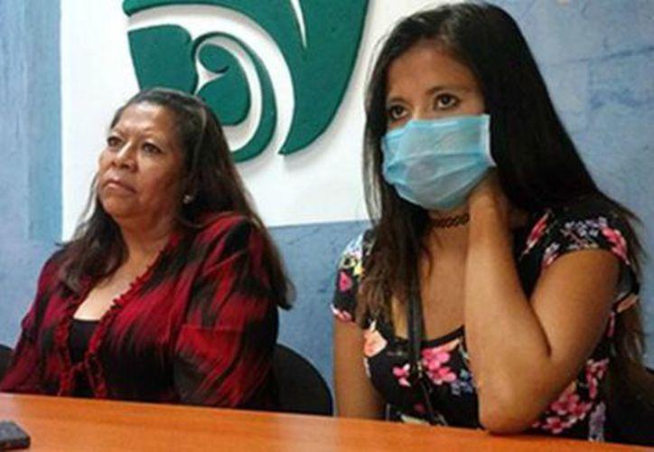 Los cinco miembros de la familia Ruiz González viven con un riñón.  (Milenio.com)