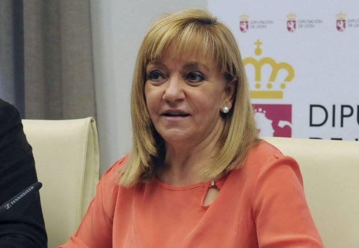 Isabel Carrasco fue baleada por una mujer que disparó tres veces sobre ella. (EFE)