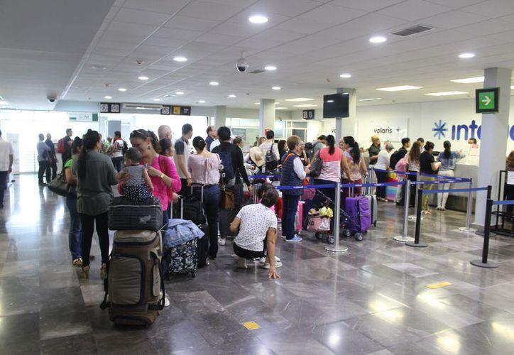 El mes que mayor número de pasajeros registró fue marzo. (Joel Zamora/SIPSE)