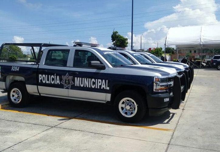 Al municipio de Benito Juárez le dieron 20 patrullas de la corporación estatal. (Eric Galindo/SIPSE)