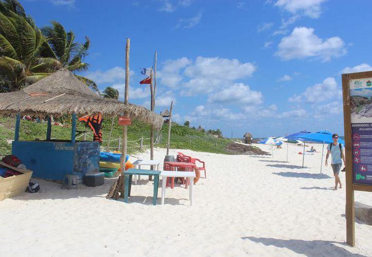 Durante la temporada de Semana Santa ningún vehículo podrá ingresar a la zona costera. (Foto: Sara Cahuich/SIPSE)