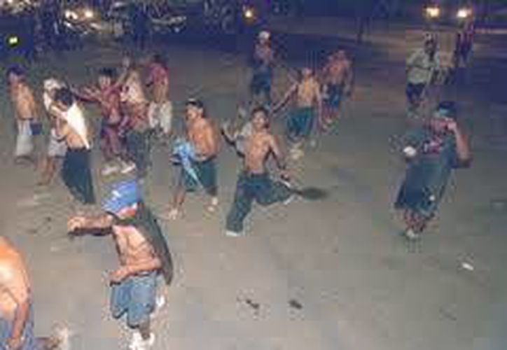 En la última semana se reportaron dos peleas de jóvenes en donde hubo, por lo menos, cuatro lesionados. (Internet)
