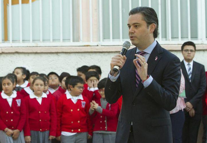 El secretario de Educación Pública, Aurelio Nuño, dijo que el registro de los maestros para realizar la evaluación educativa es muy alto. (Archivo/Notimex)