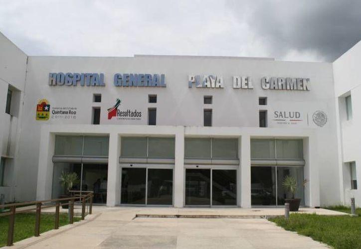 Una turista con VIH interpuso una queja ante Derechos Humanos por no recibir atención en el Hospital General de Playa del Carmen. (Archivo/SIPSE)