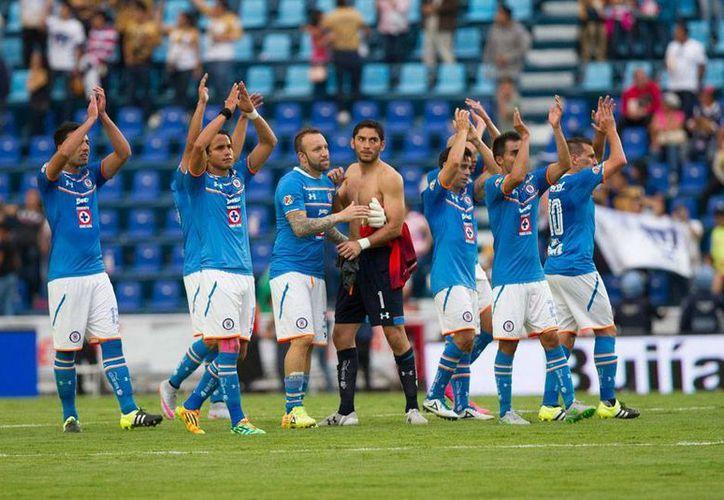 Cruz Azul, que no ha tenido un buen paso en la Liga MX, tendrá un partido difícil de cuartos de final en la Copa MX, ante León.  (Archivo/NTX)