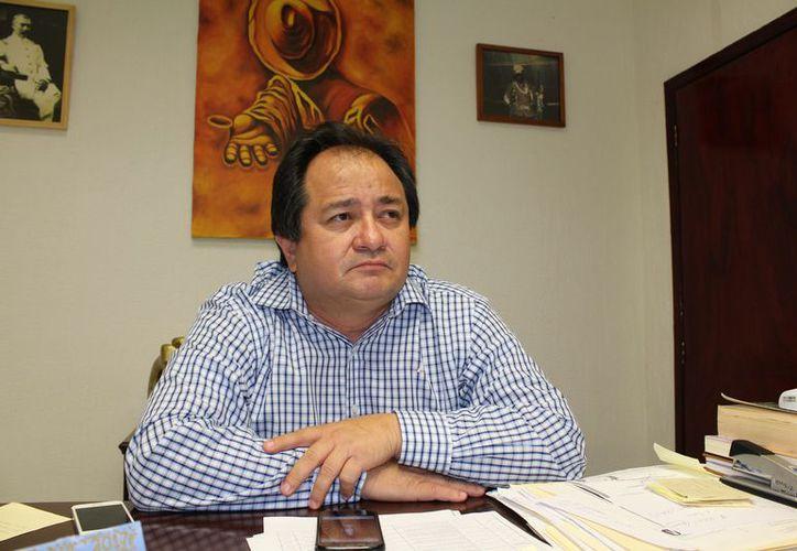 El mandatario aseguró que será respetuoso con los procesos y tiempos de la elección, y acatará las decisiones de su partido. (Joel Zamora/SIPSE)