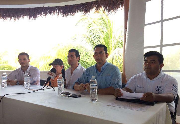 Anunciaron en conferencia que el torneo se realizará del 21 al 23 de abril. (Raúl Caballero/SIPSE)