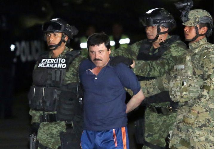 """El """"Chapo"""" había solicitado recientemente un nuevo juicio, lo que el juez aún no ha resulto tampoco. (Agencia Reforma)"""