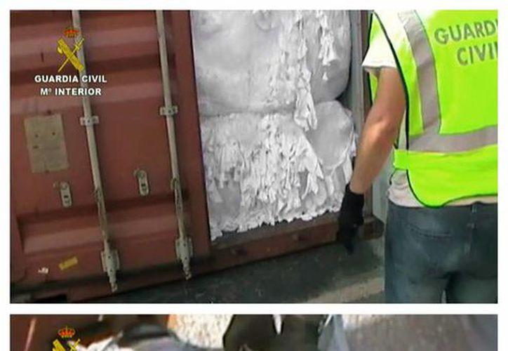 Fueron incautados un total de 204 kilos del narcótico. (EFE)
