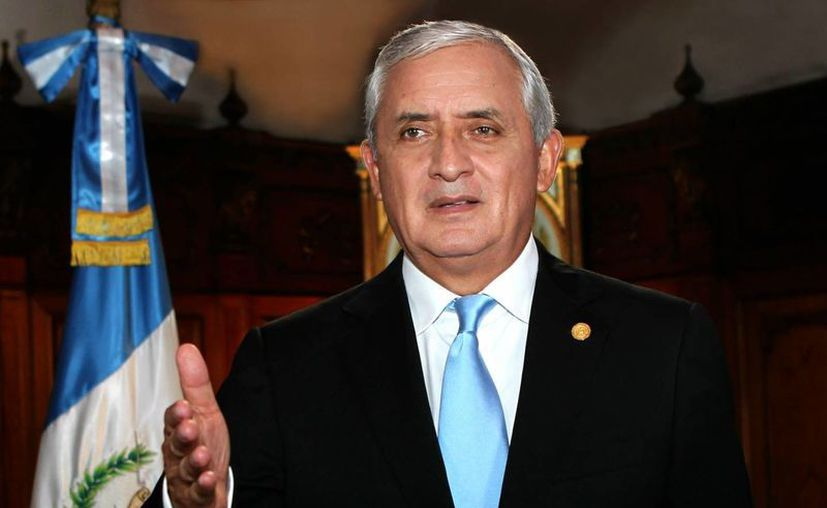 El expresidente guatemalteco Otto Pérez Molina, destituído por un escándalo de corrupción, vuelve a estar en el ojo del huracán por una investigación revelada este viernes. (Archivo/Notimex)