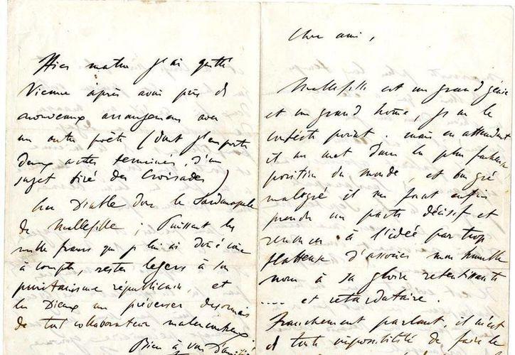 El lote de los escritos de Liszt se vendió en 13 mil euros. (library.yale.edu)