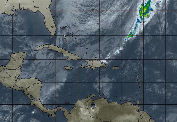 La probabilidad de lluvias en Cancún es del 40 por ciento. (Intellicast)