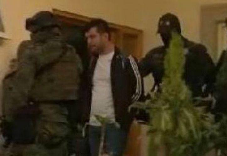 Sicairos Montalvo fue aprehendido en un operativo en el fraccionamiento residencial Real Esmeralda. (Especial/Milenio).