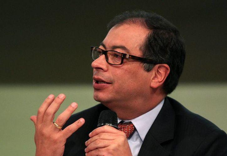 El próximo 2 de marzo se realizará un referendo que decidirá la suerte del alcalde de Bogotá, Gustavo Petro. (EFE/Archivo)