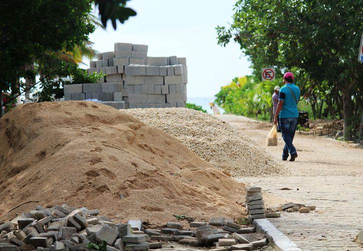 Las obras se realizan porque buscan un distintivo Blue Flag para la playa Punta Esmeralda. (Foto: Octavio Martínez)