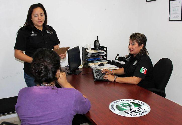 El novio de la joven de Nuevo León no estaba con ella al momento de su localización en el fraccionamiento Manzana 115 de Mérida. (FGE)