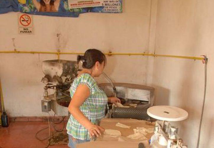 El consumo de tortilla en Chetumal disminuyó en un 35% considerando que, al día, una persona consumía 300 gramos. (Harold Alcocer/SIPSE)
