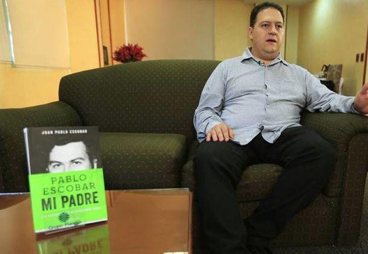 Juan Pablo Escobar, también conocido como Sebastián Marroquín, asegura que siempre ha sido muy crítico con su padre. (Reuters)