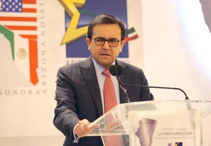 El secretario de Economía, Ildefonso Guajardo, realizó una visita de dos días a Washington para reunirse con el equipo del presidente Trump. (twitter.com/ildefonsogv)